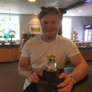 Vinnare av BFB Golfen 2017 Robert Jonasson, Drome AB